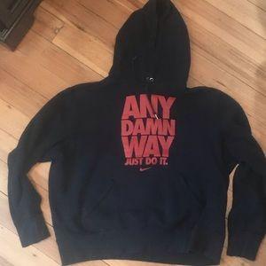 Nike black sweatshirt size xl